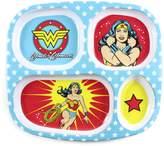 Bumkins DC Comics Divided Melamine Plate