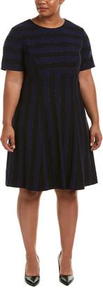 Tahari by Arthur S. Levine Tahari Asl Plus Shift Dress