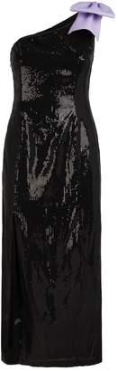 Olivia Rubin Violet One-Shoulder Sequin Dress