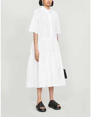 Cecilie Bahnsen Collared cotton dress