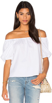 RED Valentino Off the Shoulder Top