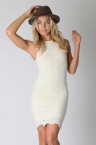 Nightcap Clothing Belize Dress in Ivory