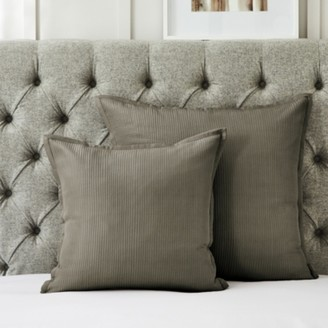 The White Company Hampstead Cushion Cover, Mink, Large Square