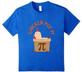 Kids CUTE CHICKEN POT PI T-SHIRT National Pi Day Gift 10