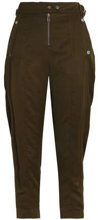 Belstaff Cropped Voile Tapered Pants