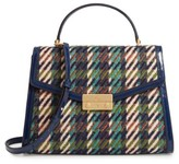 Tory Burch Juliette Tweed Top Handle Satchel - Green