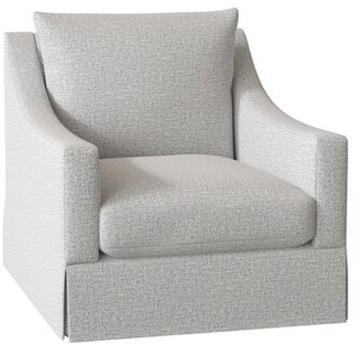 "Bernhardt Grace 32.5"" W Armchair Body Fabric: 2156-010, Motion Type: Stationary"