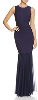 JS Collections Bandage Cutout Back Gown