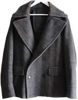 Prada Black Wool Coats