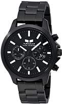 Vestal Unisex HEI3CM02 Heirloom Chrono Analog Display Analog Quartz Black Watch