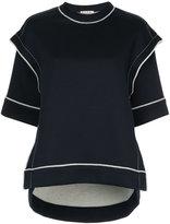 Marni exposed seam sweatshirt