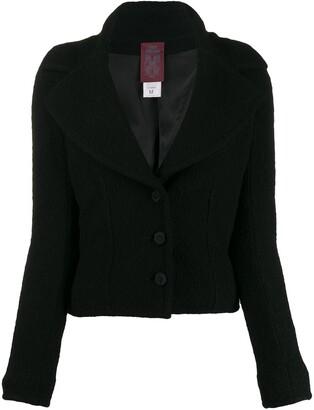 John Galliano Pre Owned 1990s Boucle Yarn Jacket