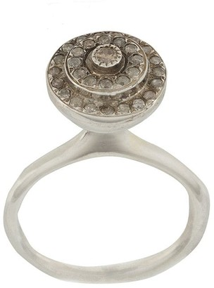 Rosa Maria Crystal-Embellished Ring