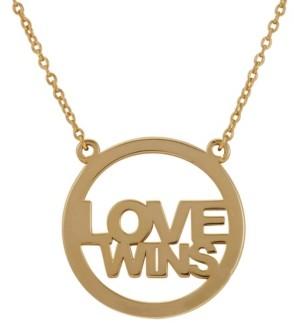 ADORNIA Love Wins Necklace