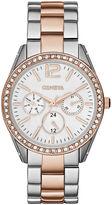 JCPenney FASHION WATCHES Womens Crystal-Accent Boyfriend Bracelet Watch