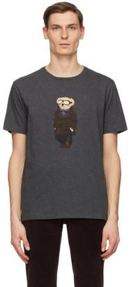 Ralph Lauren Purple Label Grey Bear Jersey T-Shirt