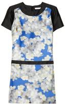 Victoria Beckham Victoria, Printed silk-shantung dress