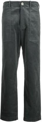 Mira Mikati Straight-Leg High-Waisted Trousers