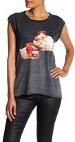 Pam & Gela Strawberry Rings Front Graphic Print Tee