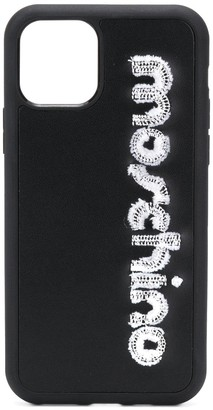 Moschino logo iPhone 11 Pro case