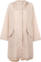 Jil Sander hooded parka - women - Polyester - 32