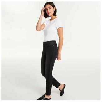 Joe Fresh Women's Classic Slim Jeans, JF Black (Size 32)