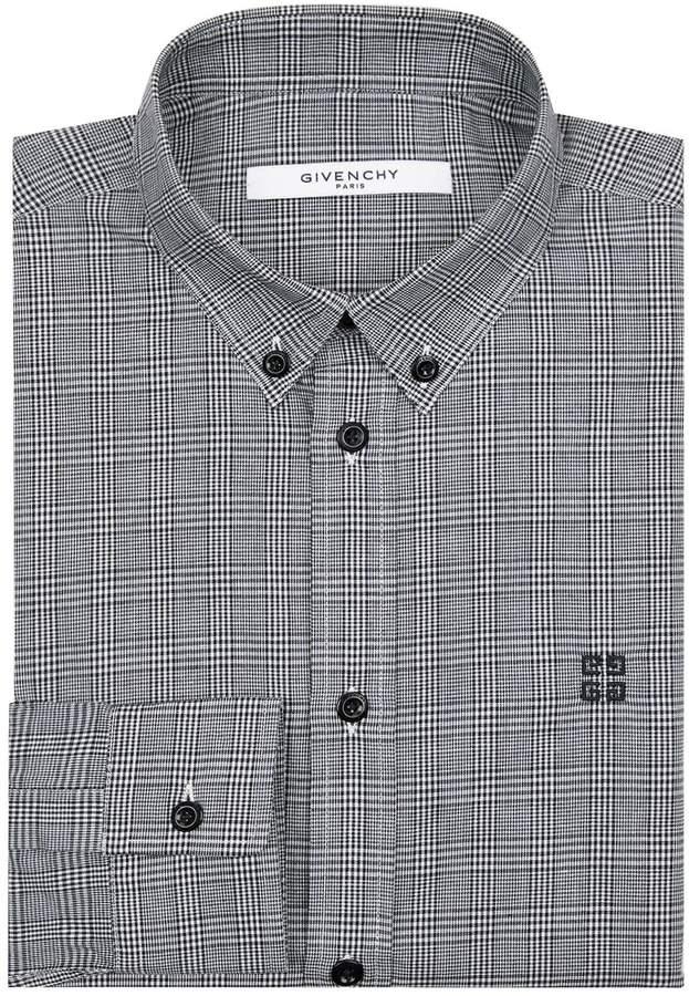 Givenchy Prince of Wales Check Shirt