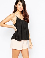 Finders Keepers Electric Lady Pleated Cami