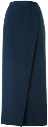 Chanel Pre Owned 2000 Wrap Long Skirt