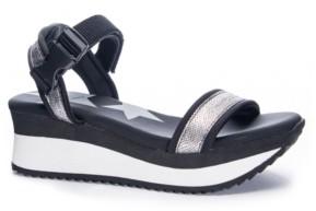 Chinese Laundry Women's Gung Ho Platform Wedge Sandals Women's Shoes