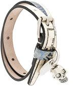 Alexander McQueen printed wrap bracelet