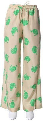 Lanvin Mother And Child Drawstring Pants