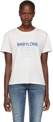Saint Laurent White Babylone T-Shirt