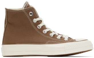 Carhartt Work In Progress Brown Converse Edition Chuck 70 Hi Sneakers