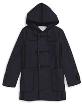 Burberry Mini Wickford Hooded Peacoat (Little Boys & Big Boys)