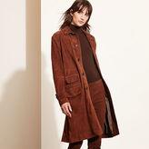 Ralph Lauren Suede Coat