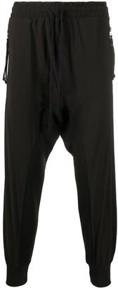 Thom Krom Drop-Crotch Casual Trousers
