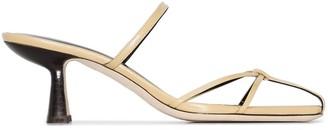 BY FAR Edita 70mm sandals