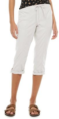 So Juniors' Low Rise Soft Capri Pants