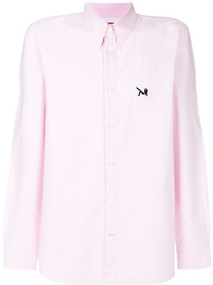 Calvin Klein Patch Detail Button Down Shirt