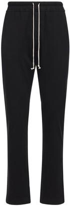 Rick Owens Berlin Cotton Jersey Sweatpants