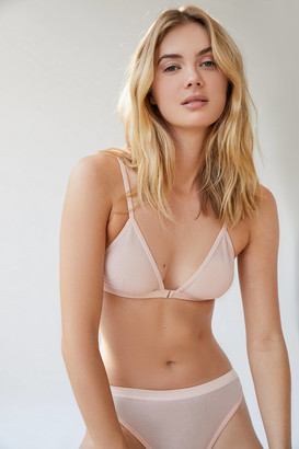 Out From Under Diamond Mesh Triangle Bralette