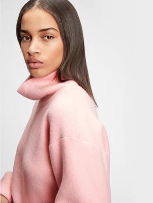 Gap Fleece Turtleneck Sweatshirt
