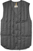Rocky Mountain Featherbed Six Month Quilted Wool-twill Down Gilet