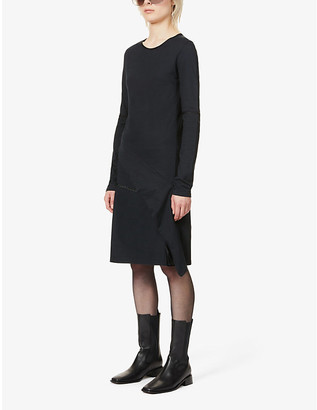 Pre-loved BYRONESQUE x Helmut Lang cotton-jersey midi dress