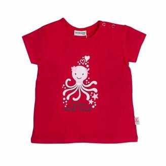 Salt&Pepper Salt and Pepper Baby Girls' mit suem Krakenmotiv Glitzerdruck T-Shirt