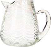 One Kings Lane Vintage Art Deco Swag Glass Handled Pitcher
