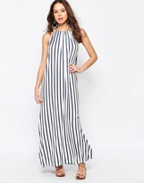 Seafolly Vertical Stripe Jersey Maxi Dress