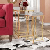 Everly Bridgwater ly-Inspired 2 Piece Nesting Table Quinn