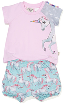 Peter Alexander peteralexander Baby Girls Unicorn Pj Set